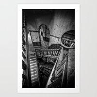 Never Ending Stairs Art Print