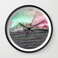 Mount Wisdom [cropped] Wall Clock