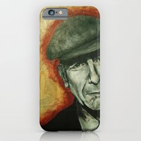 iPhone & iPod Case featuring Leonard by alison dillon art