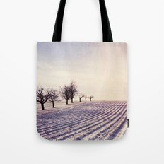 Winter Field 3 Tote Bag