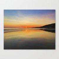 Dawn colours Canvas Print