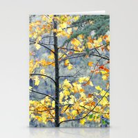Yellow Tree Stationery Cards