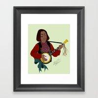 O Cino Muzikánto (The L… Framed Art Print