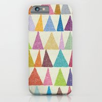 iPhone Cases featuring Analogous Shapes In Bloom. by Nick Nelson