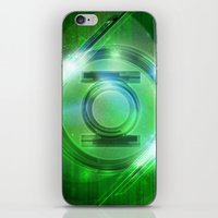 Green Lantern iPhone & iPod Skin