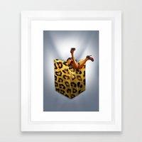 FASHION VICTIM Framed Art Print