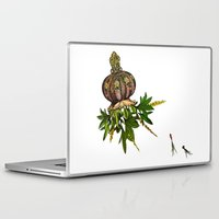 jellyfish Laptop & iPad Skins featuring Jellyfish by Sybille Sterk