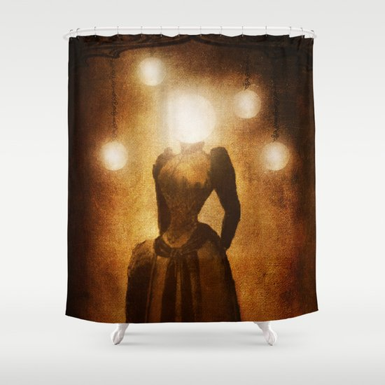 Lady of the Light Shower Curtain
