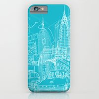 New York! Blueprint iPhone 6 Slim Case