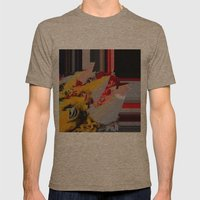 But I'm a Real Dragon! Mens Fitted Tee Tri-Coffee SMALL