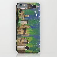 iPhone & iPod Case featuring Chicago Night by Thousand Lines Ink