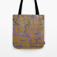 Pastel Map Tote Bag