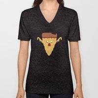 Pizzaaaargggh Unisex V-Neck