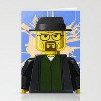 LEGO - Walter White Mini… Stationery Cards
