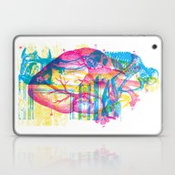 Andreae Vesalii Montage Laptop & iPad Skin