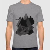 Mountains Inside Mens Fitted Tee Athletic Grey SMALL