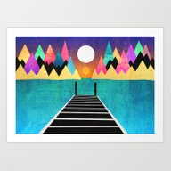Art Print featuring My Happy Place by Elisabeth Fredriksso…