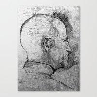 Stay Hungry, Stay Foolish. Steve Jobs 1955–2011 Canvas Print