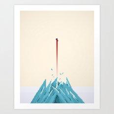 Fortress of Solitude Breakout Art Print