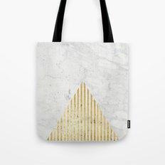 Trian Gold Tote Bag