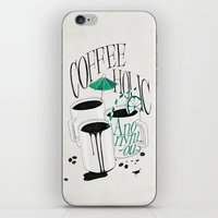 Us And Them: Coffeeholic… iPhone & iPod Skin