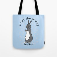 Don't Pat The Bunny Tote Bag