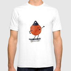Skater Buoy SMALL White Mens Fitted Tee