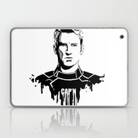 Avengers in Ink: Captain America Laptop & iPad Skin