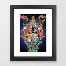 sah:asrara Framed Art Print