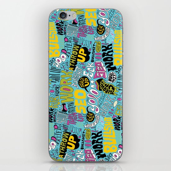 SEO Pattern iPhone & iPod Skin