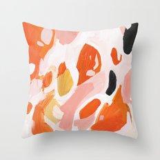 Color Study No. 4 Throw Pillow