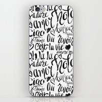 European Holiday iPhone & iPod Skin