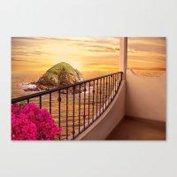Hotel Paradiso Canvas Print