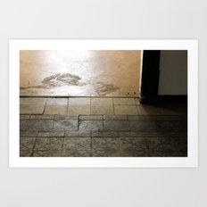 LOST PLACES - olden forsaken tiles Art Print