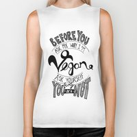 Why Vegan? Biker Tank