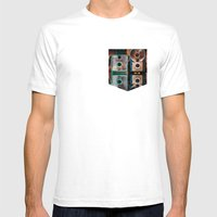 Mintage Mens Fitted Tee White SMALL