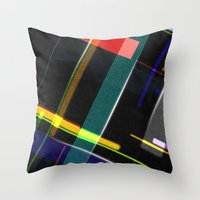 Line Pattern Throw Pillow