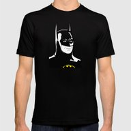 Batman89 Mens Fitted Tee Black SMALL
