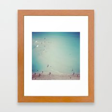 Miami Beach Framed Art Print