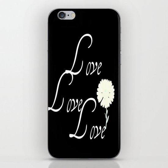 love love love iPhone & iPod Skin