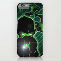iPhone & iPod Case featuring Green Lantern by Adam Surin Max