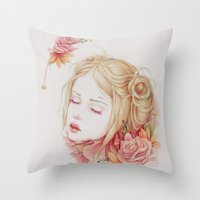 Atonement Throw Pillow