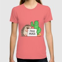Best Buddies Womens Fitted Tee Pomegranate SMALL