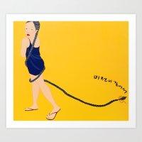 ㅁㄶㄱ Art Print