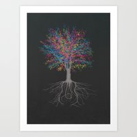 It Grows on Trees - Technicolor Art Print