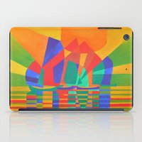 Dreamboat - Cubist Junk In Primary Colors iPad Case
