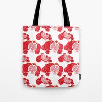 Pome and Holly Tote Bag
