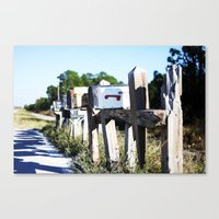 Country Mail #3 Canvas Print