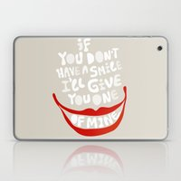 Have A Smile! Laptop & iPad Skin