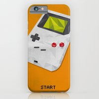 iPhone & iPod Case featuring GameBoy by Vloh
